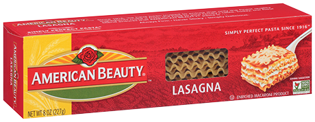 American Beauty® Lasagna