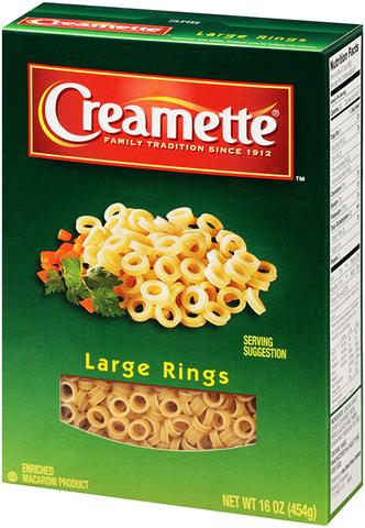 Creamette® Large Rings