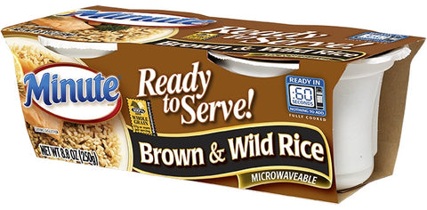 Minute Ready To Serve Brown and Wild Rice Mix