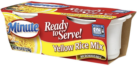 Minute Ready To Serve Yellow Rice Mix