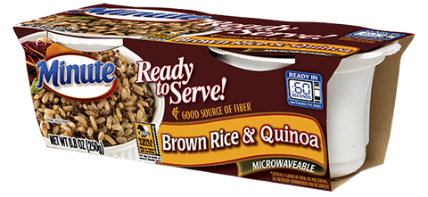 Minute® Ready To Serve Brown Rice and Quinoa