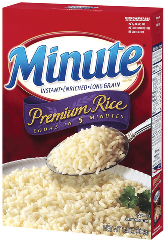 Minute Premium White Rice 14 oz.