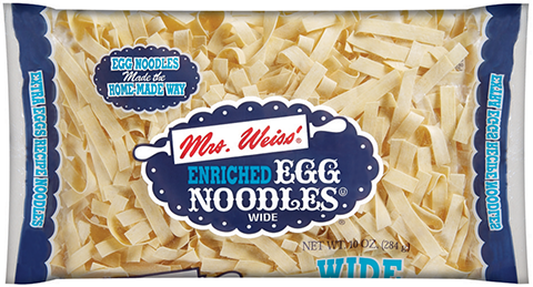 Mrs. Weiss'® Wide Egg Noodles