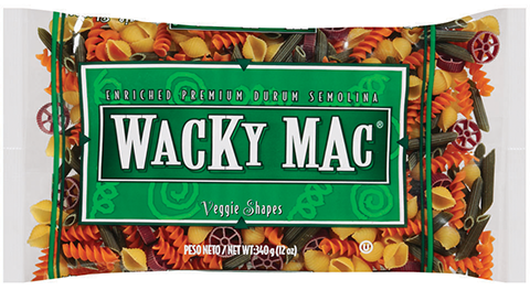 Wacky Mac® Veggie Shapes