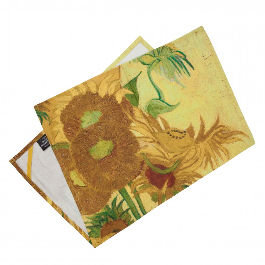 Van Gogh Tea Towel Sunflowers