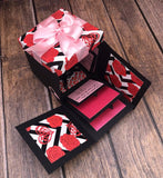 Explosion box, romantic gift, birthday gift