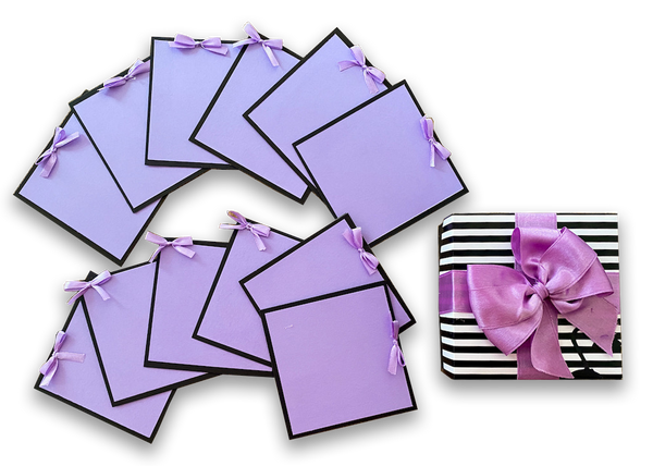 Cards in a Box - Purple Passion