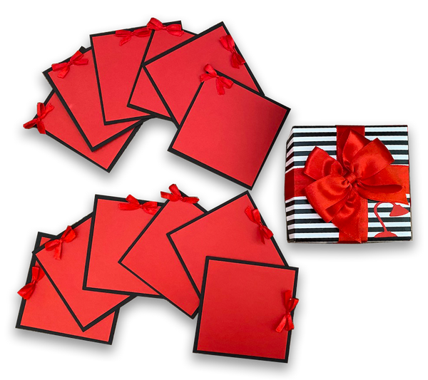 Cards in a Box - Red Passion
