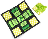 Crack of Dawn Crafts 3 Layered Happy Friendship Explosion Box - Green Checks