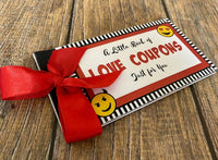 Naughty Love Coupons Vouchers - Red Passion
