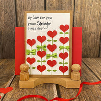 Love Greeting Card - Love Grows Stronger