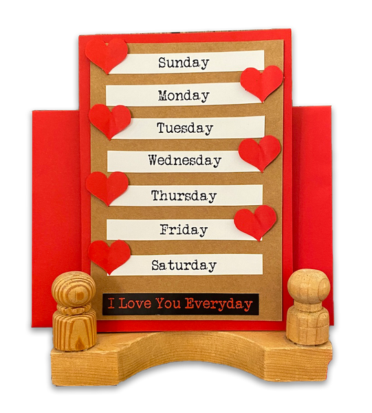 Love Greeting Card - Every Day