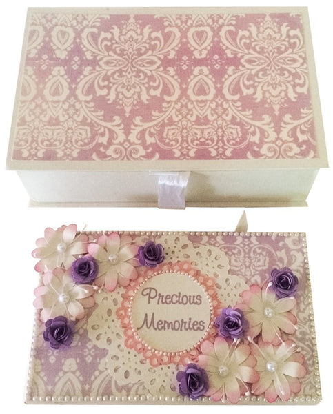 Pearly Lavender Photo Album
