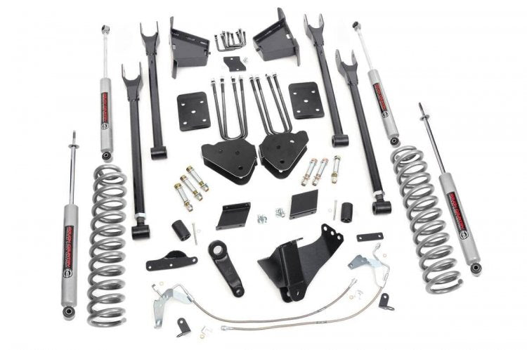 "6"" FORD SUPERDUTY SUSPENSION LIFT KIT 