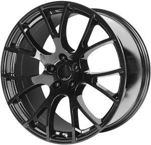 Hellcat replica Wheels PR161 - Gloss Black