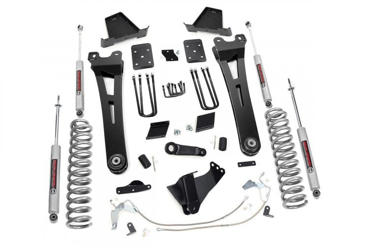 "6"" FORD SUPERDUTY RADIUS ARM SUSPENSION LIFT KIT (11-14 F-250)"