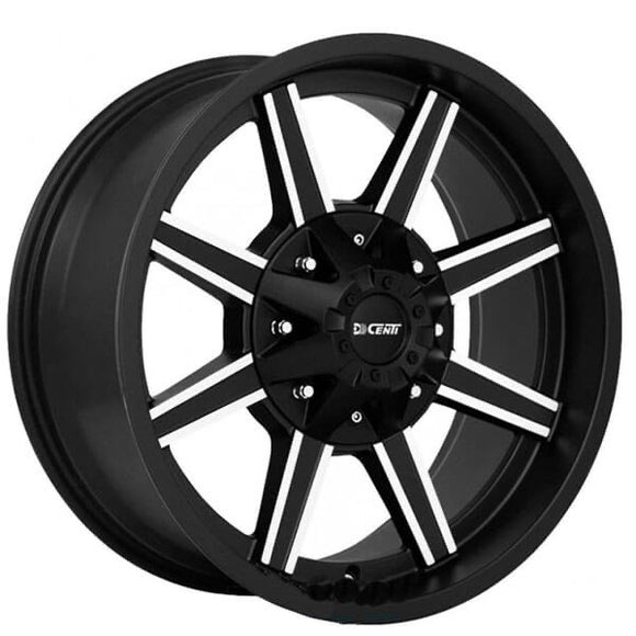 Dcenti Wheels 920 - Matte Black and Machined
