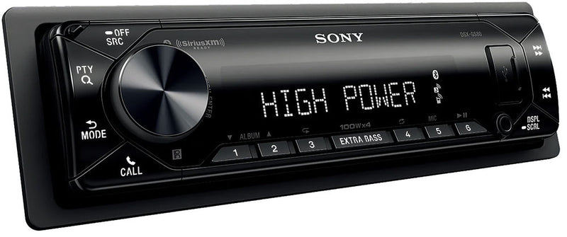 SONY High-power Bluetooth® Media Receiver DSX-GS80 400 Watts Max