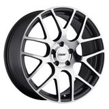 TSW Wheels Nurburgring Gunmetal W/ Mirror Cut Face