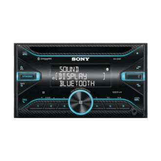 SONY WX-920BT CD Receiver with Bluetooth® Technology