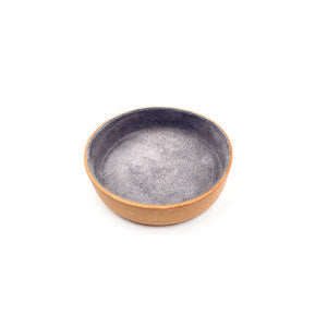 Leather Jewelry Tray, Small Grey