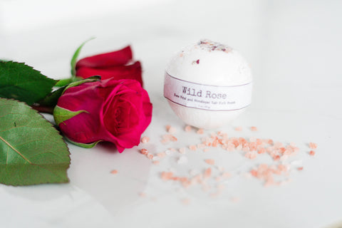 Wild Rose Bath Bombs