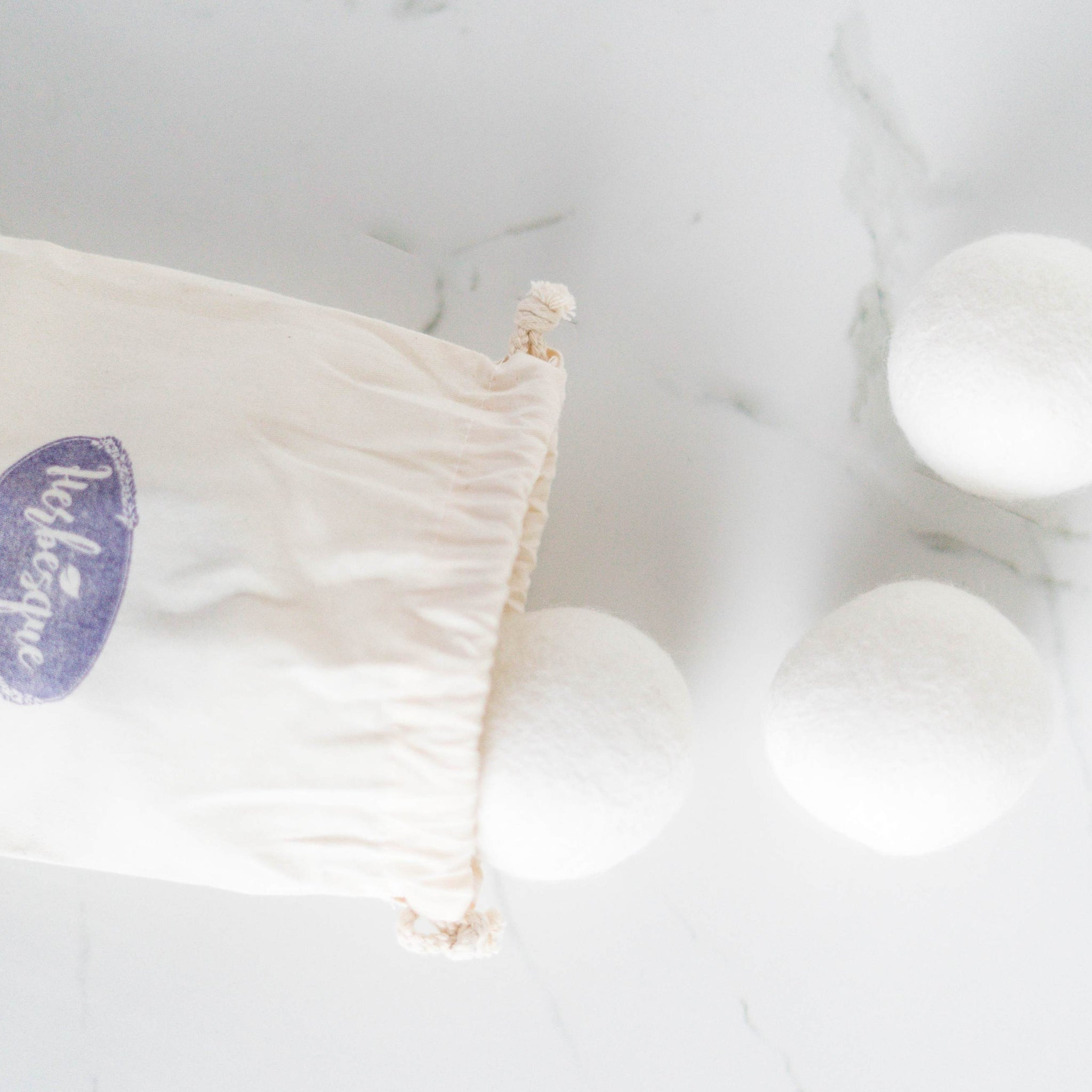 Wool Dryer Balls & Dryer Ball Oil
