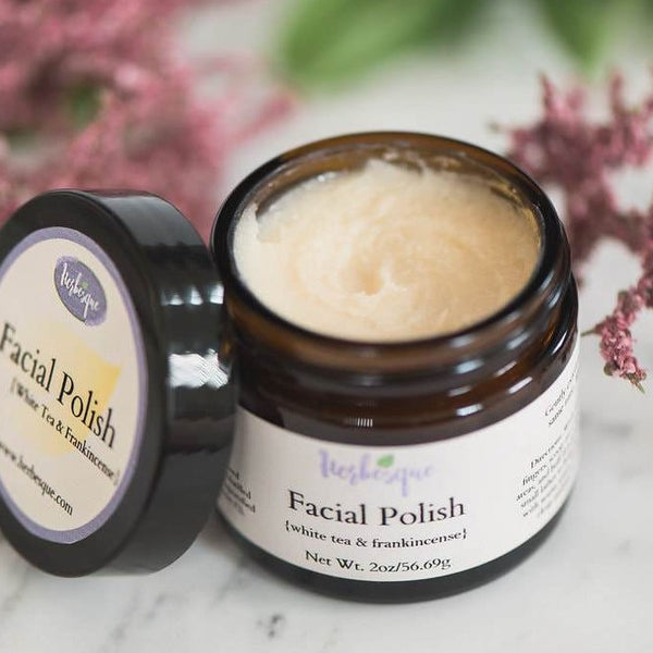 Facial Polish {white tea & frankincense}