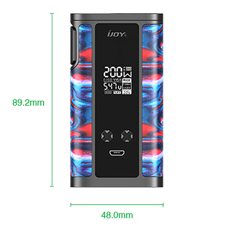 IJOY Captain Resin 200W TC Box Mod