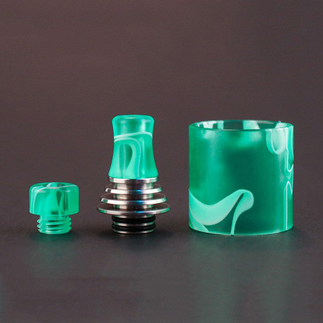 Vapefly Brunhilde MTL Replacement Resin Tube and 510 Drip Tip