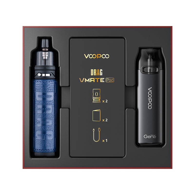 VOOPOO Drag X/ Drag S & Vmate Pod 900mah Gift Set Limited Edition