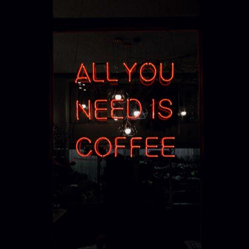 """All You Need Is Coffee"" LED Neon Light Sign VCreationZ Neon Signs 🧪"