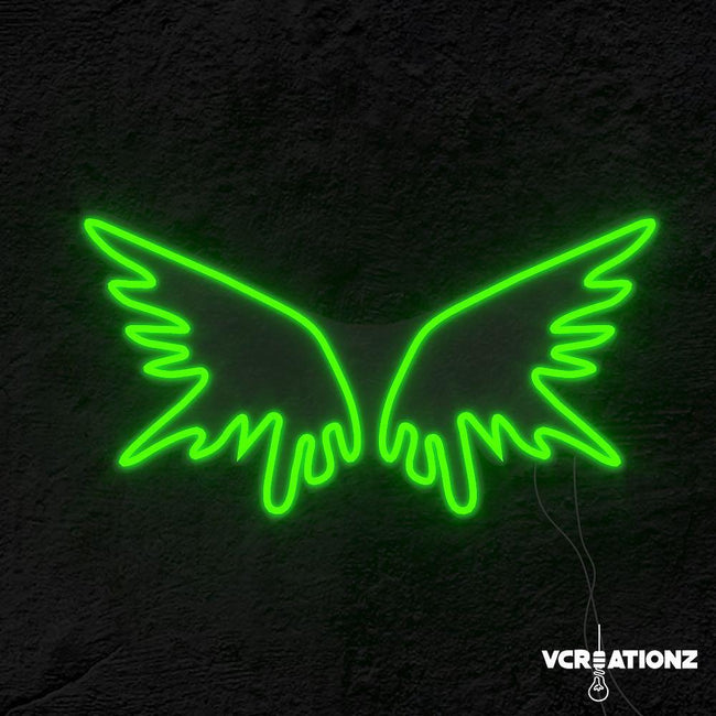 """Fly High"" LED Neon Light Sign VCreationZ Neon Signs 🧪"