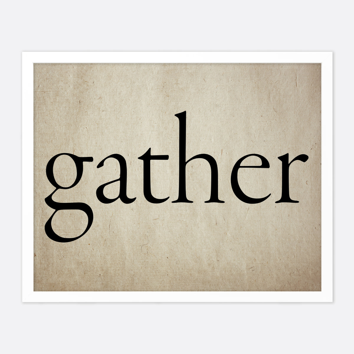 Gather Horizontal