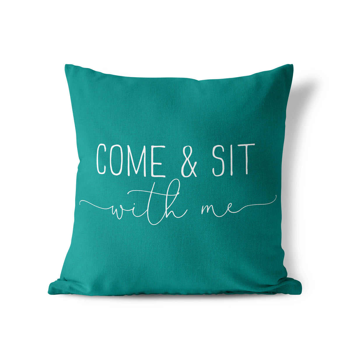 Come And Sit - Pillow Cover