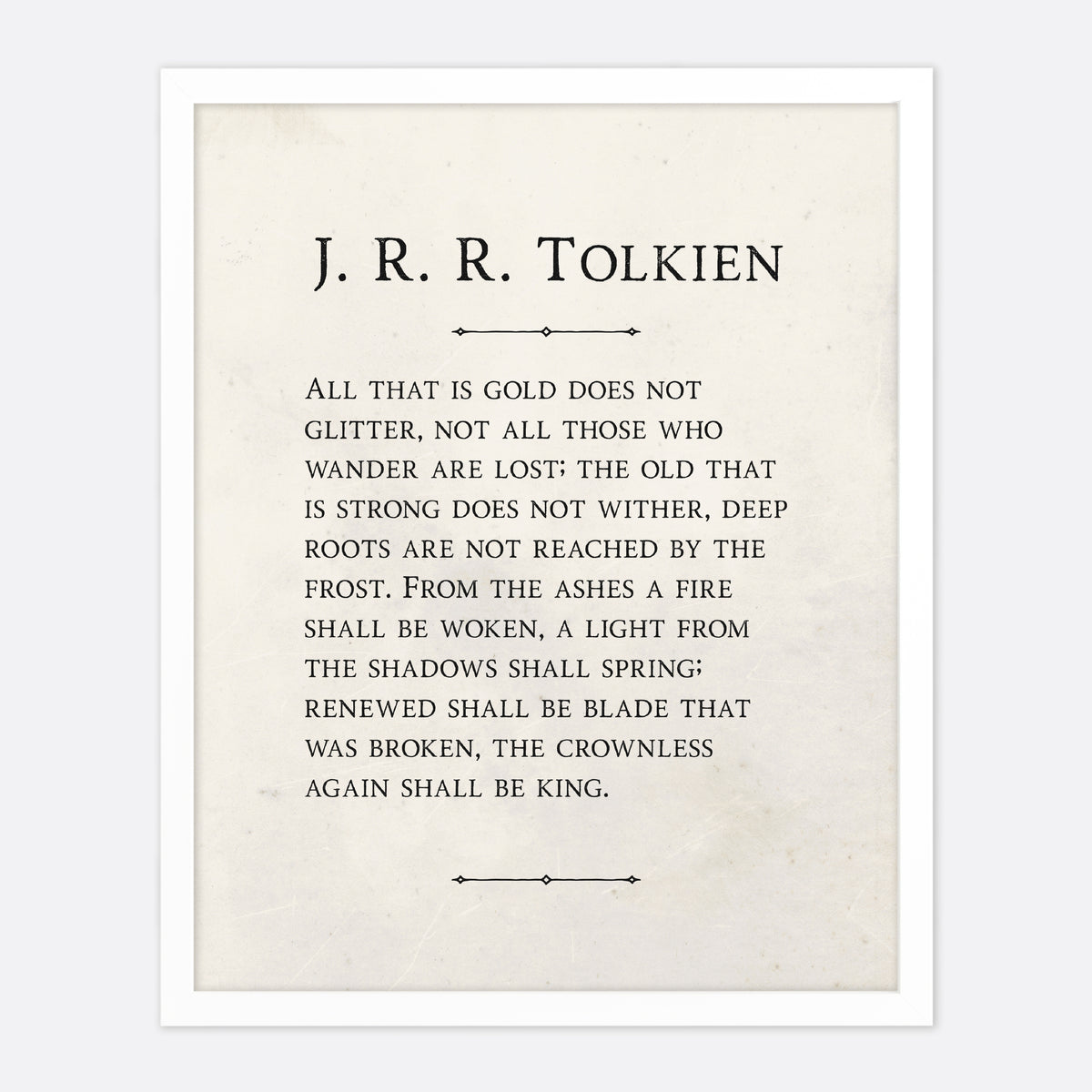 J.R.R. Tolkien All That Is Gold
