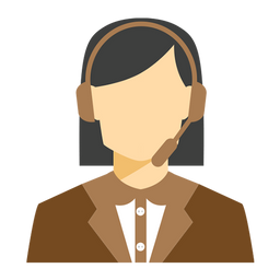 Video Call Support Icon