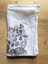 Load image into Gallery viewer, Mushroom Print Floursack Cloth Napkins