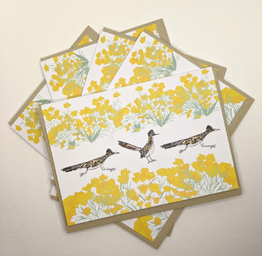 Roadrunner Greeting Cards