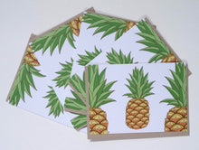 Load image into Gallery viewer, Pineapple Greeting Cards