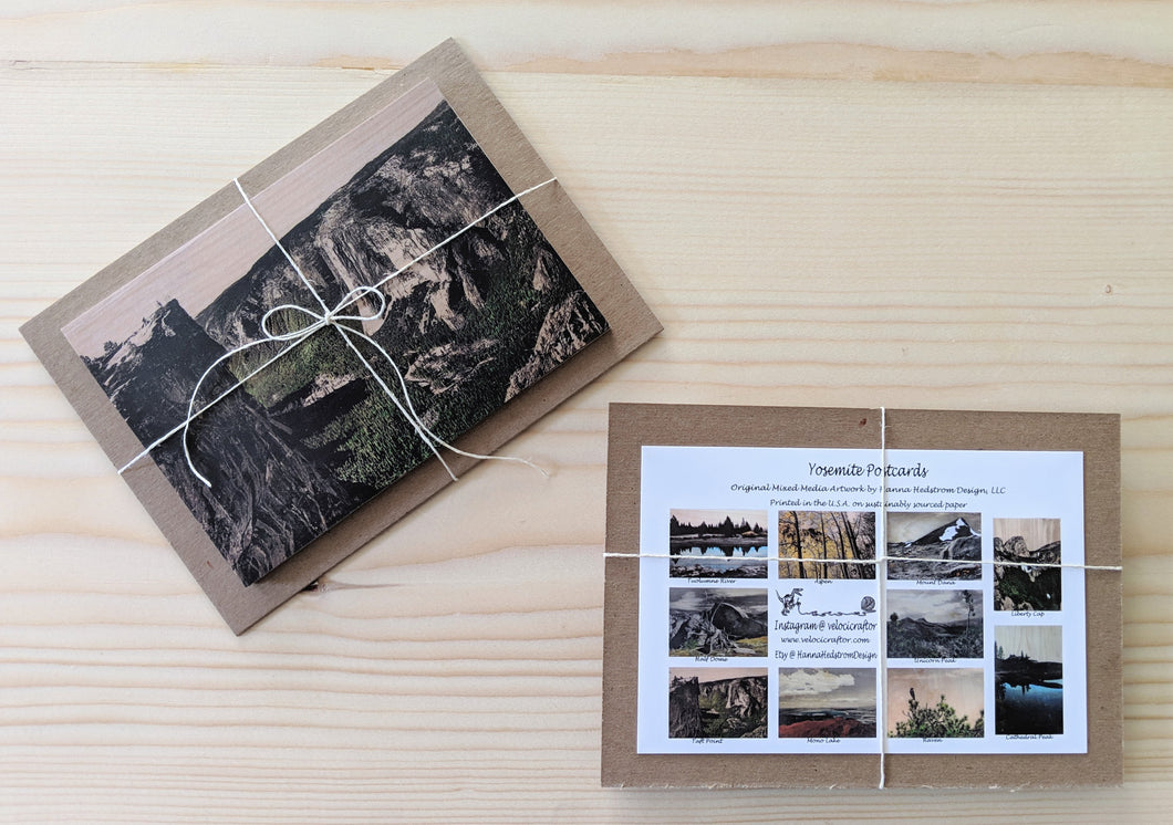 Yosemite Postcard Set