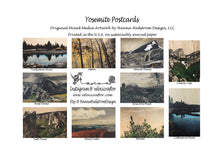 Load image into Gallery viewer, Mystery Pack of Yosemite Postcards