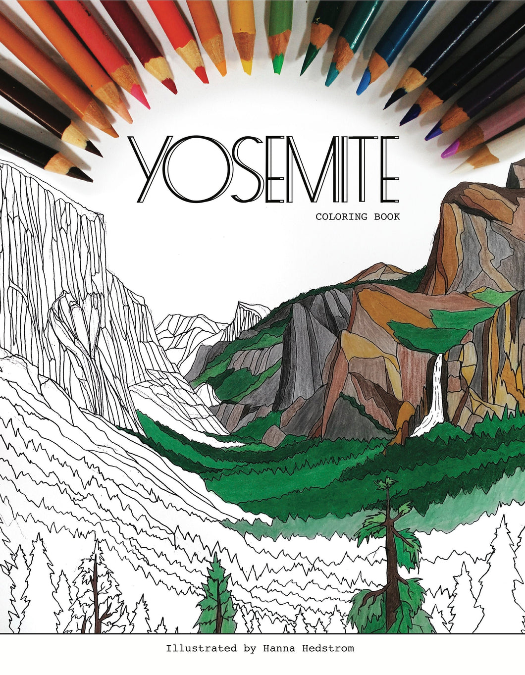 Yosemite Coloring Book PDF Download