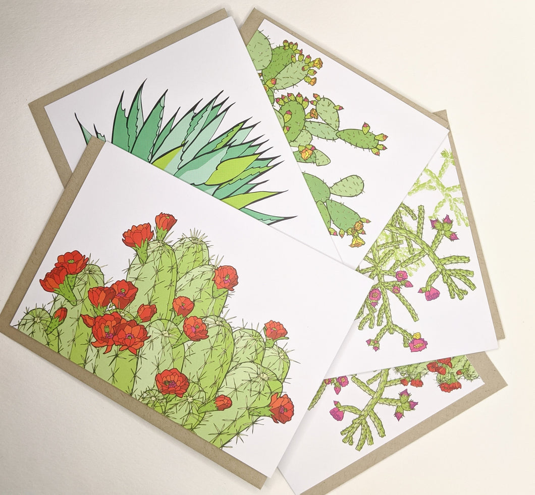 Cactus Greeting Cards