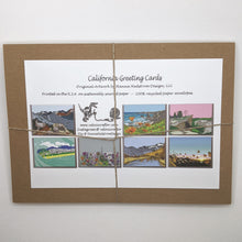Load image into Gallery viewer, California Greeting Cards