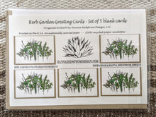 Load image into Gallery viewer, Herb Garden Greeting Cards