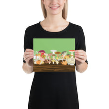 Load image into Gallery viewer, Mushrooms Poster