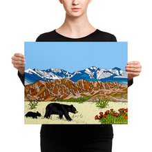 Load image into Gallery viewer, New Mexico Black Bears Canvas