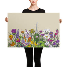 Load image into Gallery viewer, California Wildflowers Canvas