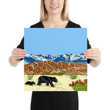 Load image into Gallery viewer, New Mexico Black Bears Poster